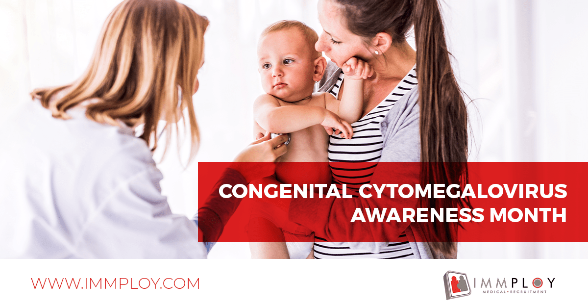 Congenital Cytomegalovirus Awareness Month